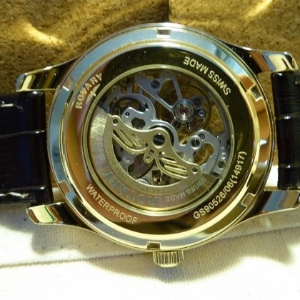 Rotary Jura 41mm White Dial Brown Leather GS90526/06